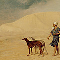 In The Desert by Jean Leon Gerome