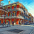 In The French Quarter Painted by Steve Harrington