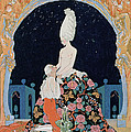 In The Grotto by Georges Barbier