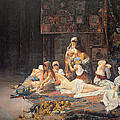In The Harem by Jose Gallegos Arnosa