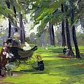 In The Park  by Mary C Greene