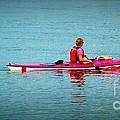 In The Pink Kayaker by Susan Garren