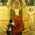 In The Venusberg Tannhauser by John Collier