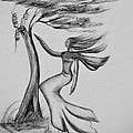 In The Wind She Dances by Maria Urso