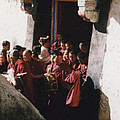 In Tibet Tibetan Monks 5 By Jrr by First Star Art