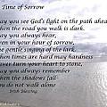 In Time Of Sorrow by Linda Feinberg
