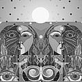 In Unity And Harmony In Grayscale by Helena Tiainen