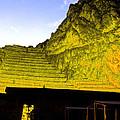 Incan Ruins Sacred Valley Peru by Ryan Fox