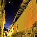 Incan Street Cusco Peru by Ryan Fox