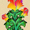 Incendia Flowers #5 by Pat Follett