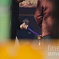 Incense Presentation At Yonghegong Temple 3 Of 5 by Terri Winkler