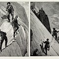 Incidents Of Climbing In The High Alps, 1889 On The Alsirat by Litz Collection