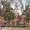 Independence Hall 1900 by Unknown