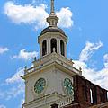 Independence Hall In Philadelphia by Karen Adams