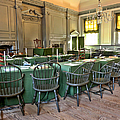 Independence Hall by Olivier Le Queinec
