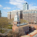 Independence Hall Philadelphia by Kay Pickens