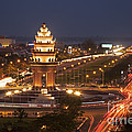 Independence Monument, Cambodia by David Davis