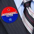 Independent Voter Pin by Joe Belanger