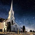 Indherred Church by Aaron J Groen