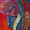 India Elephant by Patti Schermerhorn