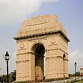 India Gate, New Delhi, India by David Davis