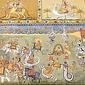 India. Jodhpur. Mehrangarh Fort. Detail by Everett