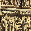 India. Khajraho. Jain Temple by Everett