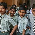 India School Boys by Jo Ann Tomaselli