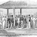 India Train Station, 1854 by Granger
