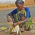 Indian Aged Woman Working by Image World