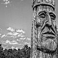Indian Chief Charlestowne Landing by E Karl Braun