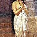 Indian Girl After Bath by Raja Ravi Varma