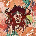 Indian Head Series 02 by Carlos Diaz