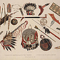 Indian Implements And Arms by Karl Bodmer