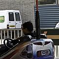 Indian Man Enjoying In A Bumper Cars Ride In An Entertainment Park by Ashish Agarwal