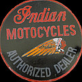 Indian Motocycle Dealer by Richard Le Page
