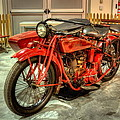 Indian Motorcycle With Sidecar by David Dufresne