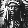 Indian of North America circa 1905 by Aged Pixel