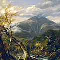 Indian Pass by Thomas Cole