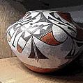 Indian Pot 1 by Lovina Wright