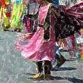 Indian Princess Dancer by Kathleen Struckle