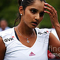 Indian Tennis Player Sania Mirza by Nishanth Gopinathan