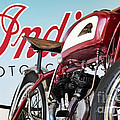 Indian Wall Of Death Motorcycle  by Tim Gainey