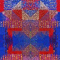Indian Weave Abstract by Alec Drake