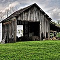 Indiana Barn by Sharon Meyer
