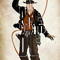 Indiana Jones Vol 2 - Harrison Ford by Inspirowl Design