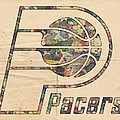 Indiana Pacers Poster Art by Florian Rodarte