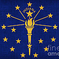 Indiana State Flag by Pixel Chimp