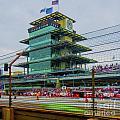 Indianapolis 500 May 2013 Square by David Haskett