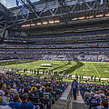 Indianapolis Colts Lucas Oil Stadium 3241 by David Haskett II